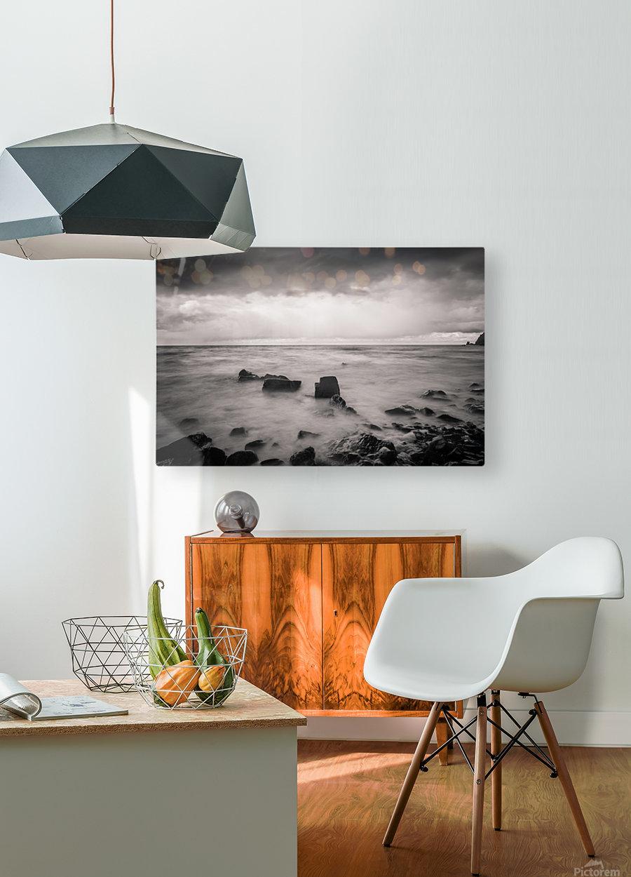 Kinarama  HD Metal print with Floating Frame on Back