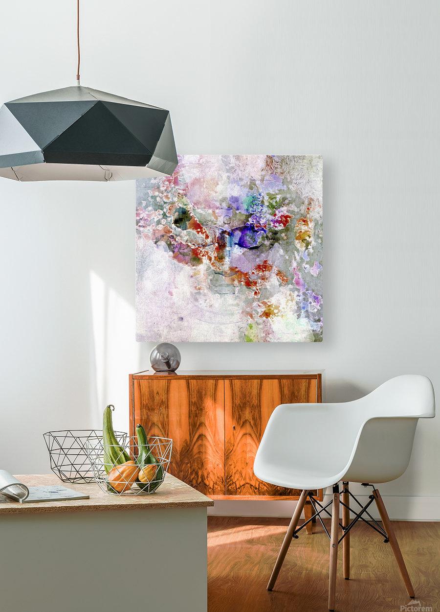 Mind in Meditation  HD Metal print with Floating Frame on Back