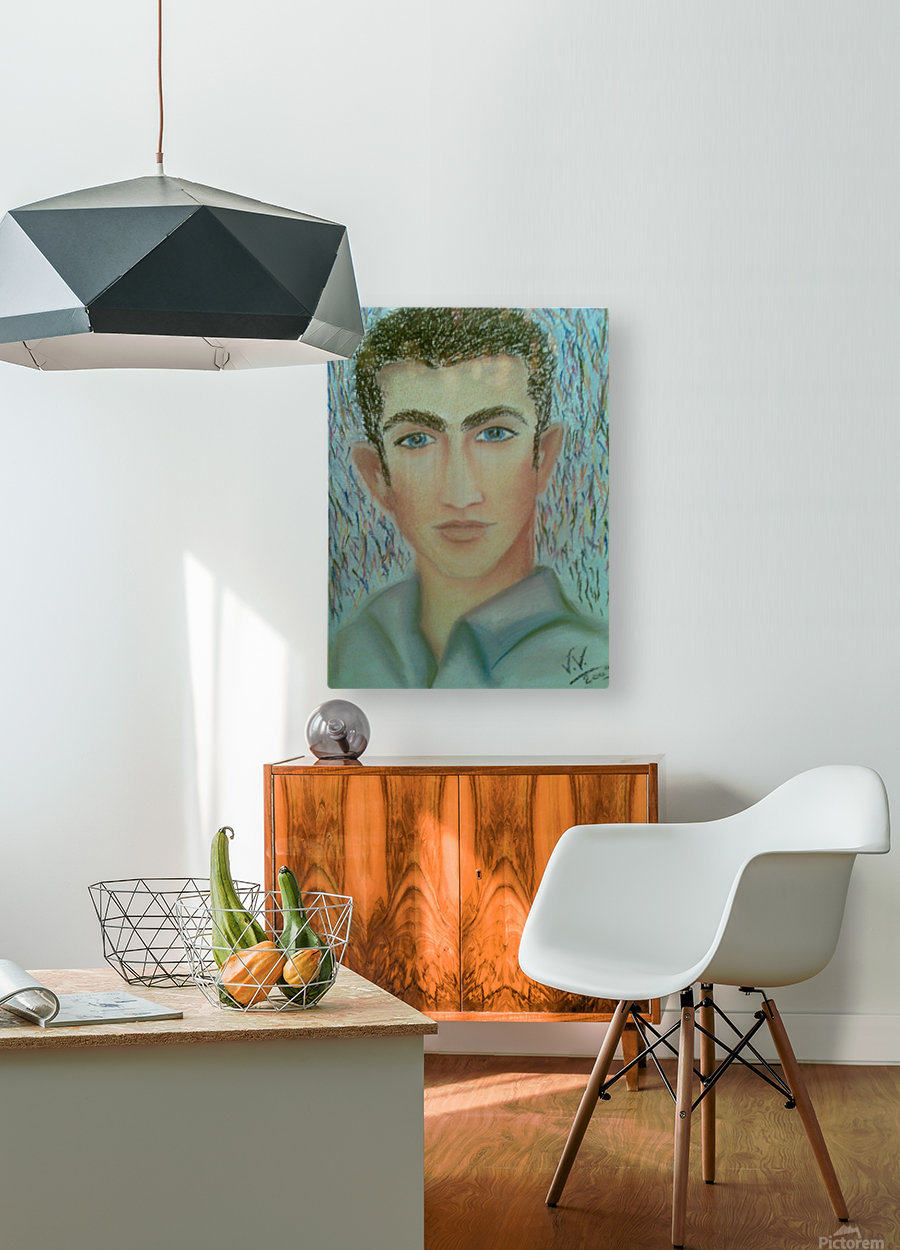 youcef  HD Metal print with Floating Frame on Back