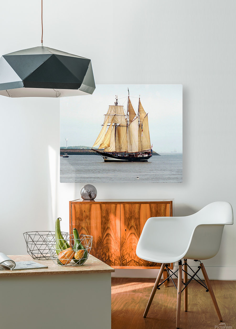 Oosterschelde  HD Metal print with Floating Frame on Back