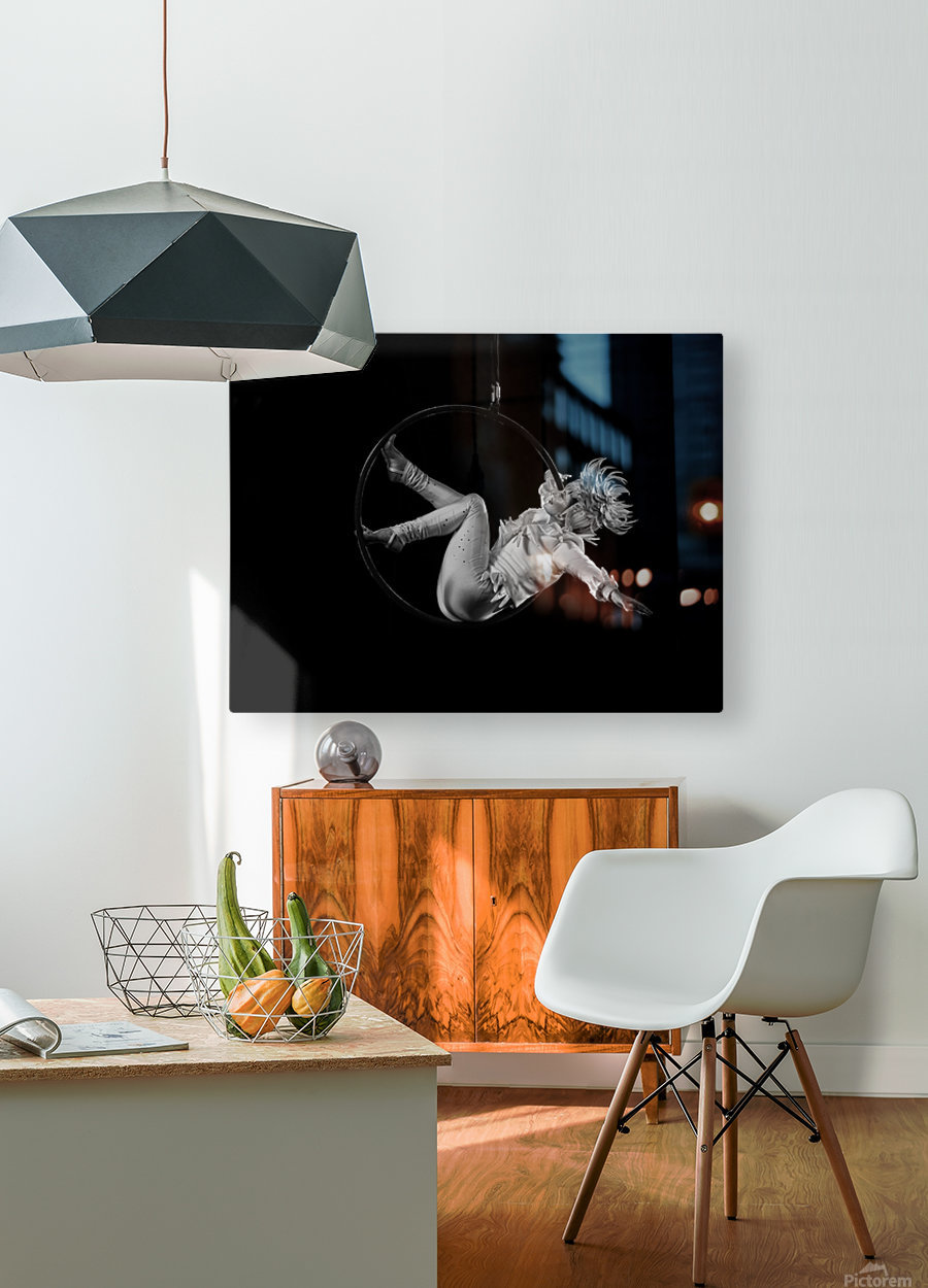 Circus  HD Metal print with Floating Frame on Back