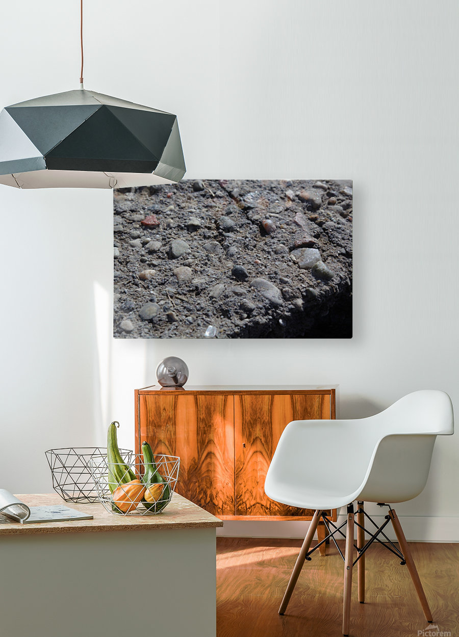 On The Edge  HD Metal print with Floating Frame on Back