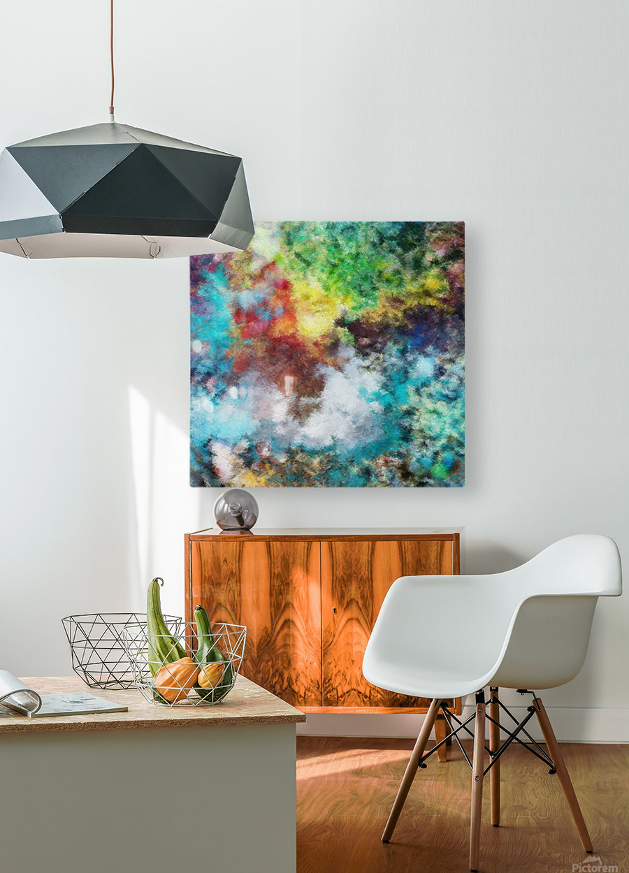 Parturition of Light  HD Metal print with Floating Frame on Back