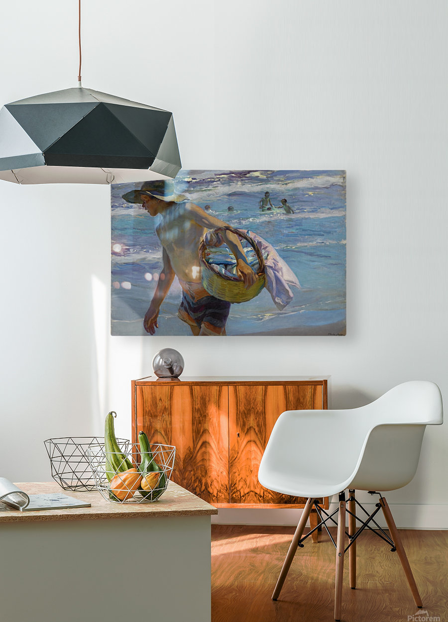 Pescador  HD Metal print with Floating Frame on Back