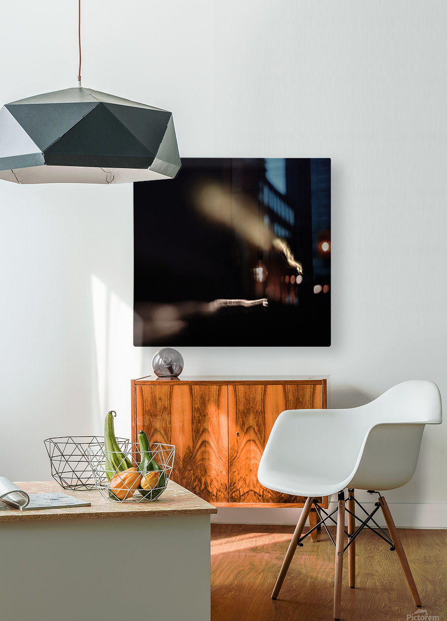 Tunnel Vision  HD Metal print with Floating Frame on Back