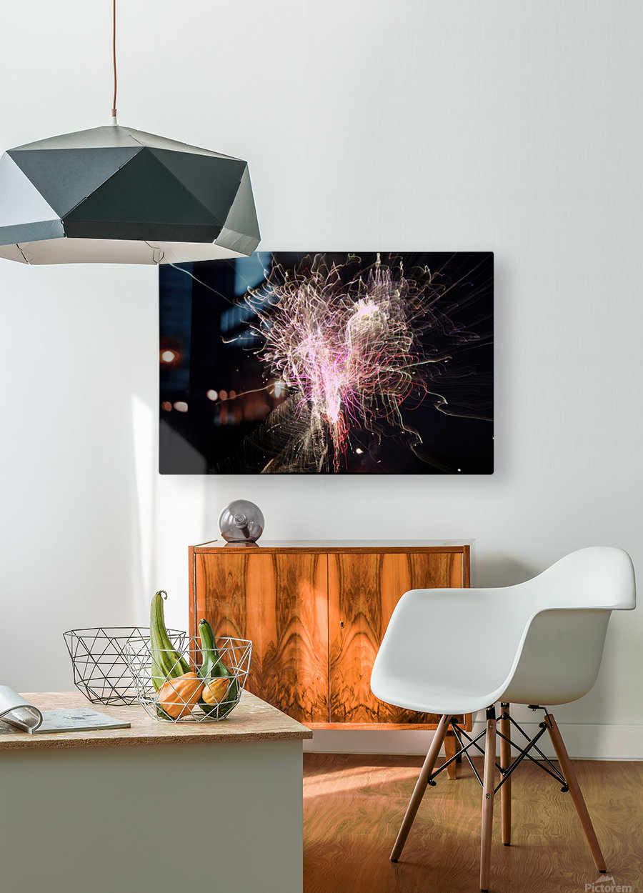 Streamers 2  HD Metal print with Floating Frame on Back