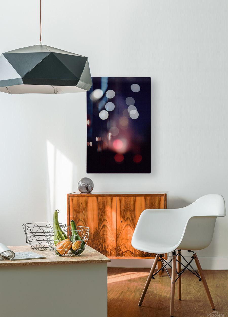 Rocket Thrust  HD Metal print with Floating Frame on Back