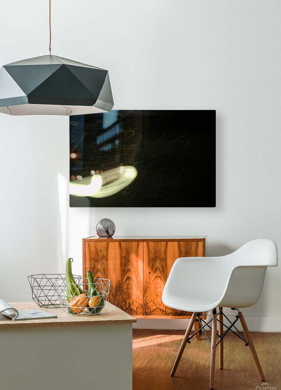 Void Tumbler  HD Metal print with Floating Frame on Back