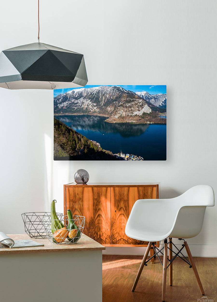 Dream Blue  HD Metal print with Floating Frame on Back