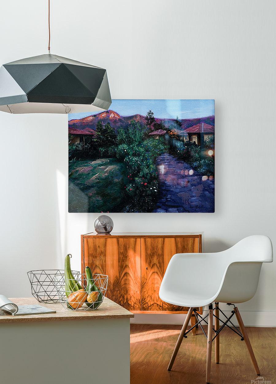 peru  HD Metal print with Floating Frame on Back