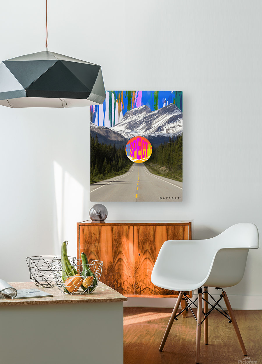 collage  HD Metal print with Floating Frame on Back