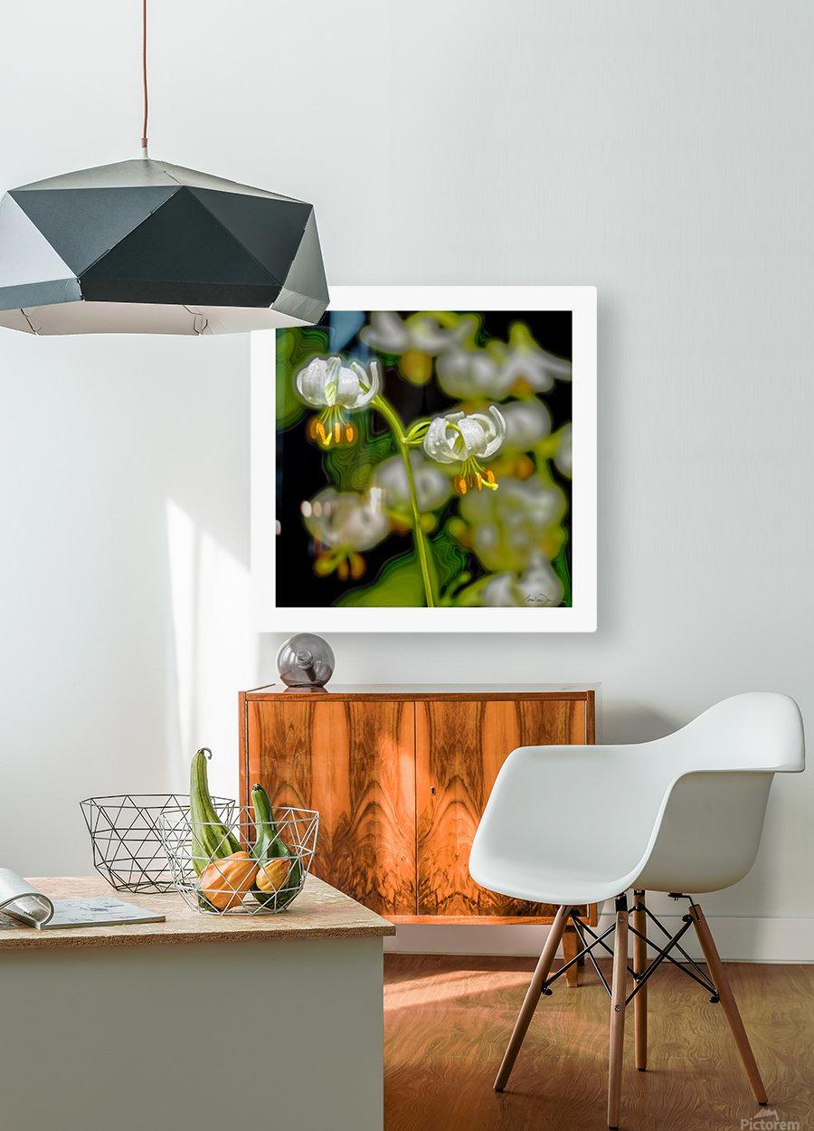 Jardin de Métis - 7  HD Metal print with Floating Frame on Back