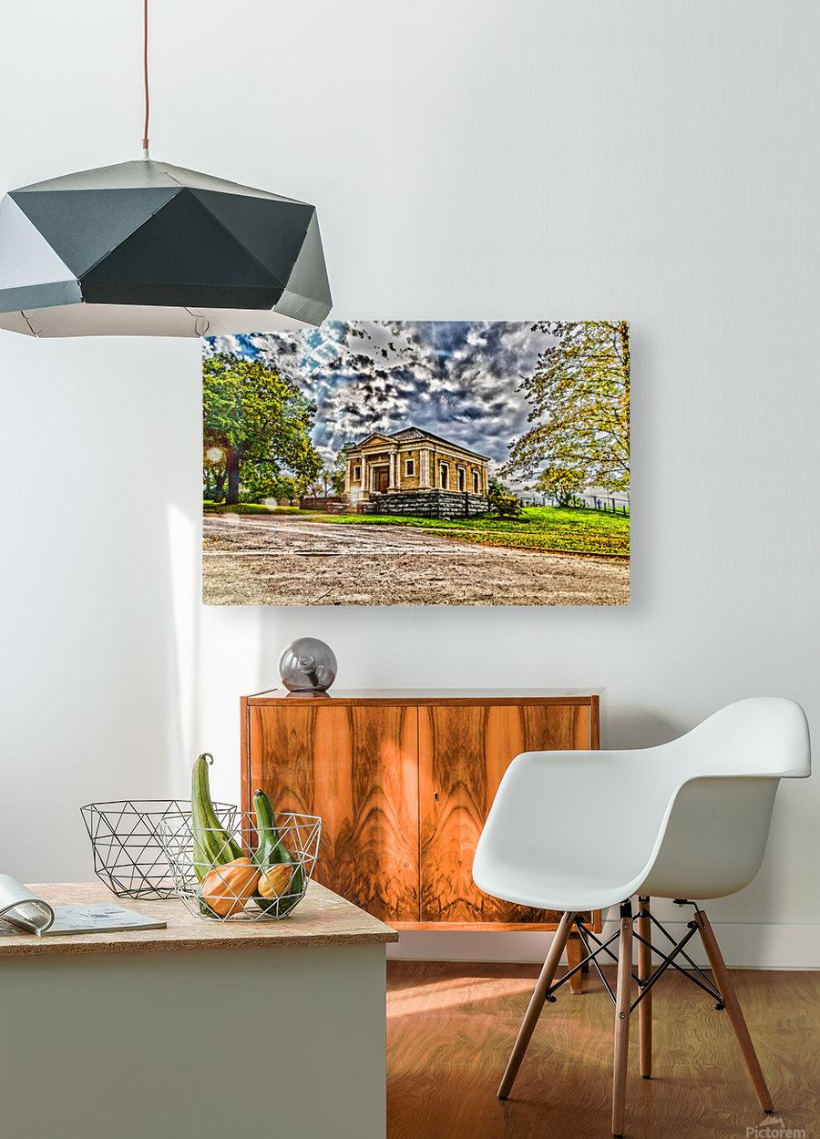 Highland Park 12  HD Metal print with Floating Frame on Back