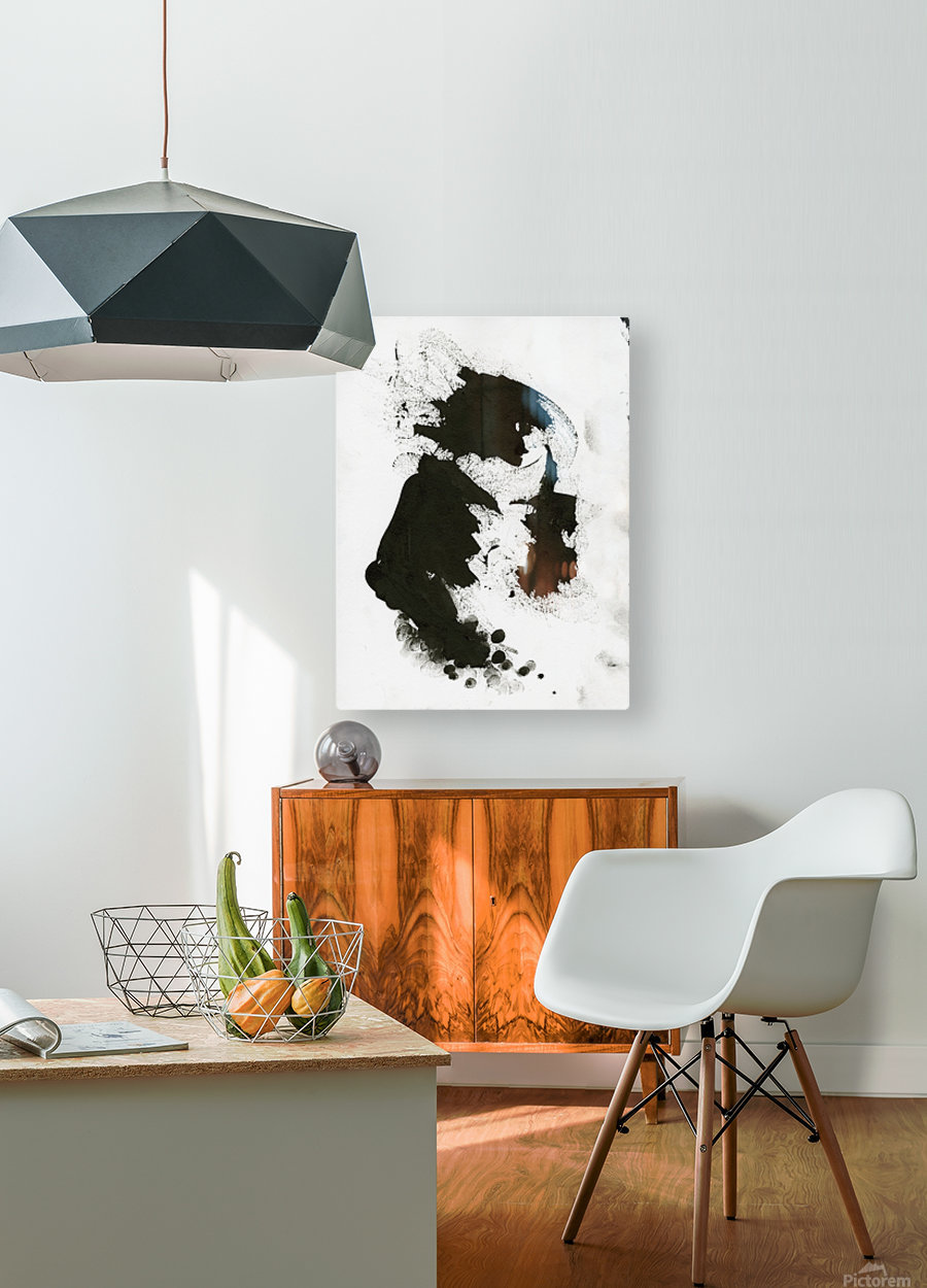 Rock God  HD Metal print with Floating Frame on Back