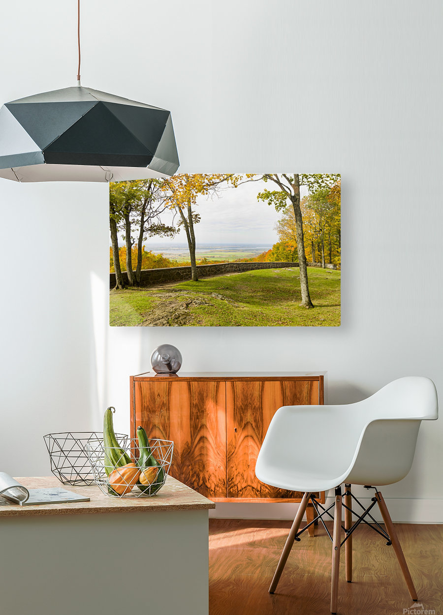 View of Ottawa Valley in Autumn 33  HD Metal print with Floating Frame on Back