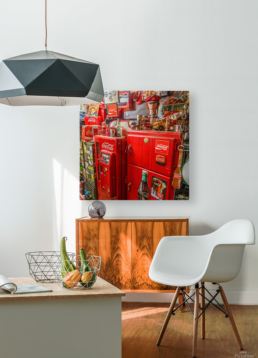 Coca Cola - Montreal  HD Metal print with Floating Frame on Back