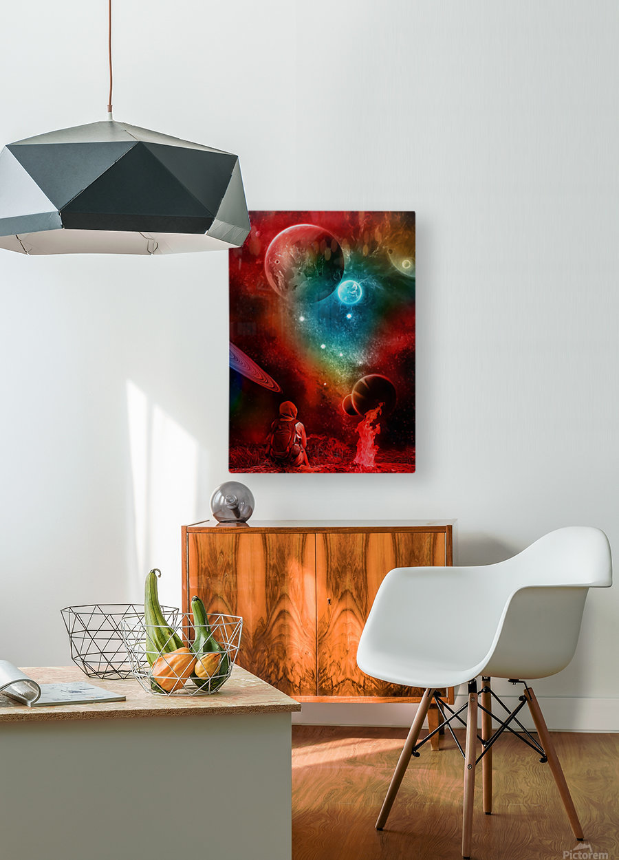 Waiting For You  HD Metal print with Floating Frame on Back