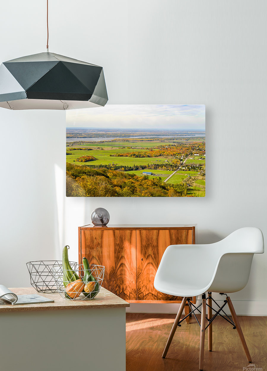 View of Ottawa Valley in Autumn17  HD Metal print with Floating Frame on Back