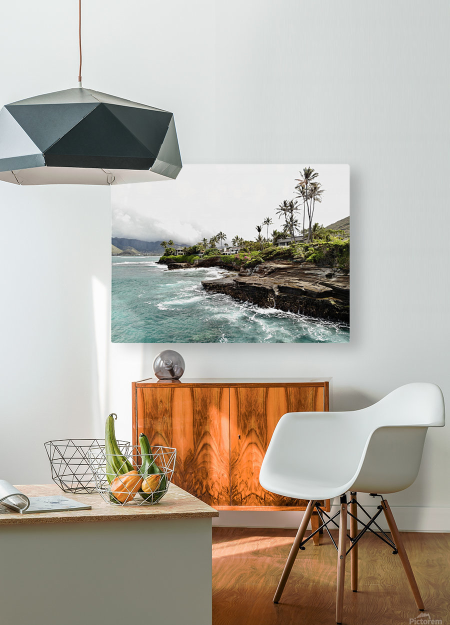 China walls  HD Metal print with Floating Frame on Back