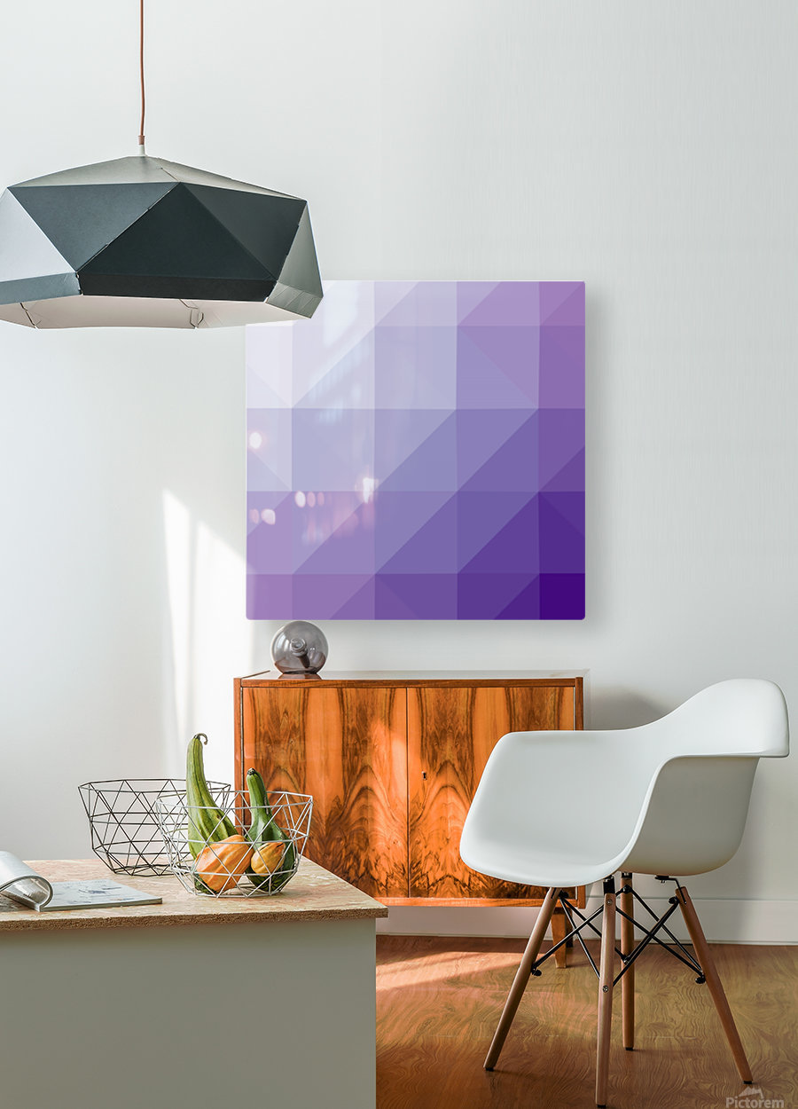 patterns low poly polygon 3D backgrounds, textures, and vectors (49)_1557098504.05  HD Metal print with Floating Frame on Back