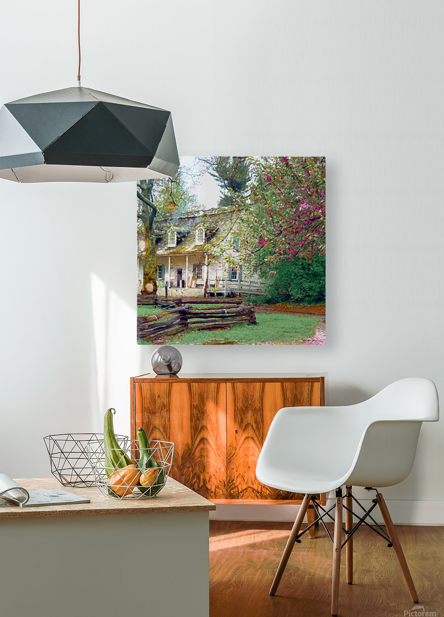 Prospect park Brooklyn  HD Metal print with Floating Frame on Back