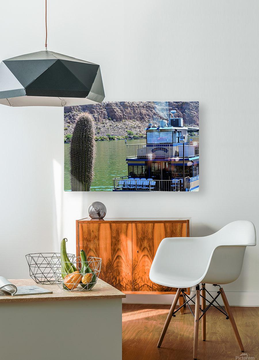 Desert Belle  HD Metal print with Floating Frame on Back