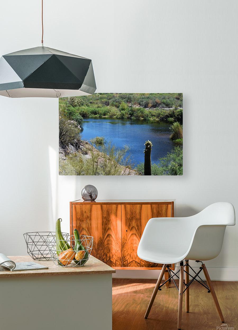 Salt River  HD Metal print with Floating Frame on Back