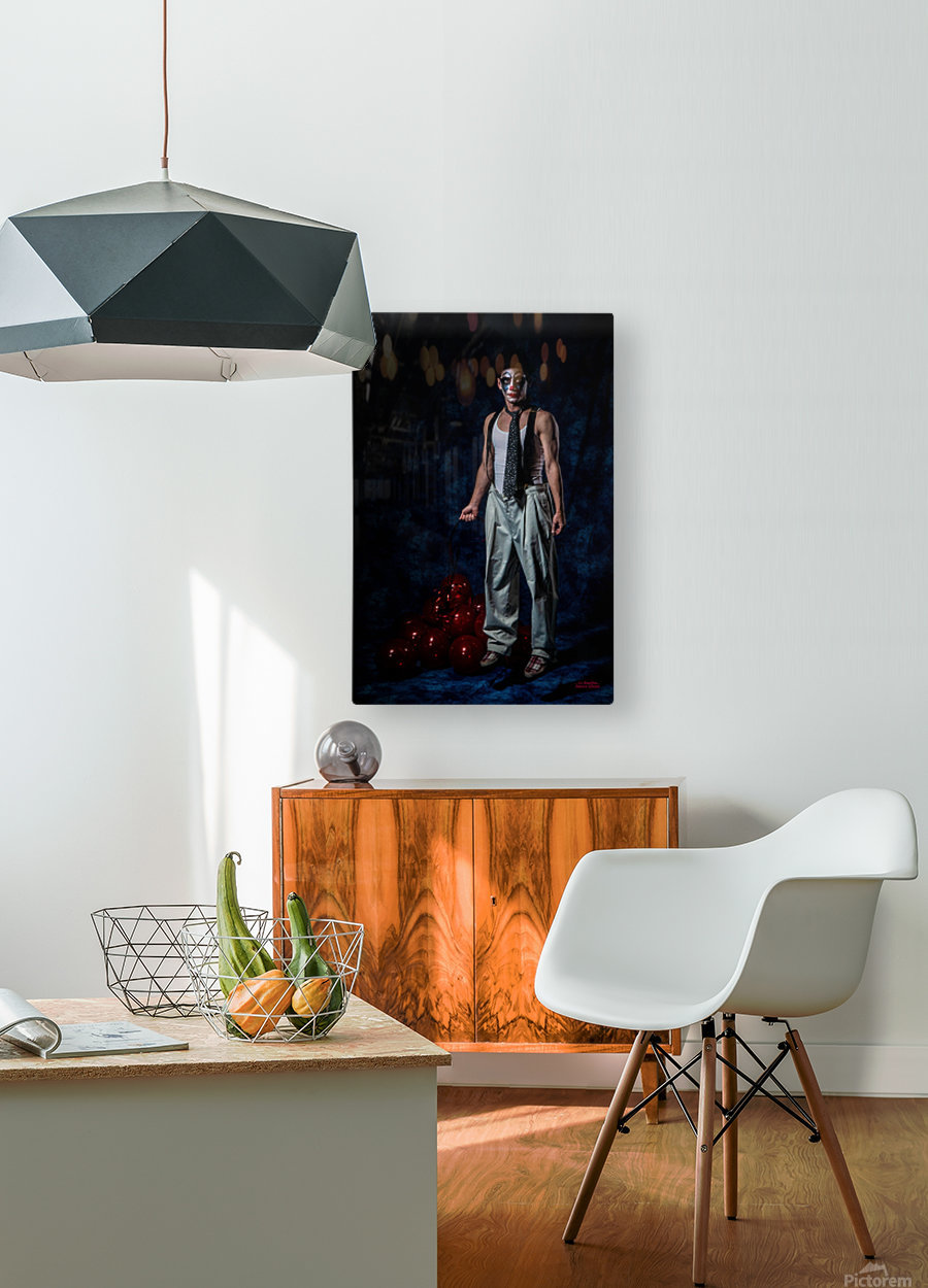 Le Bouffon  HD Metal print with Floating Frame on Back