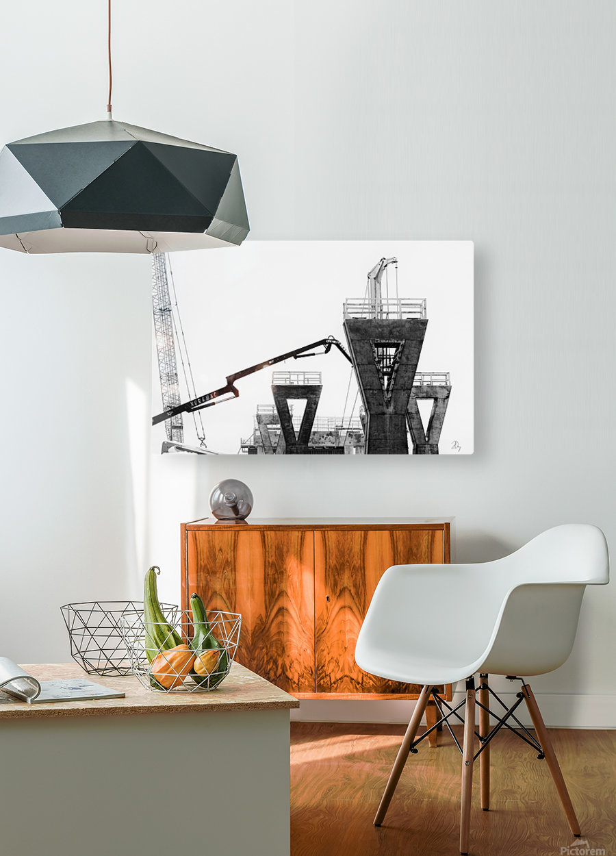 Magpie Heavy...  HD Metal print with Floating Frame on Back