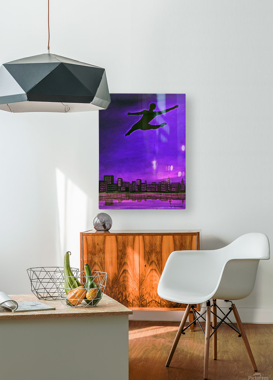 Limitless Power  HD Metal print with Floating Frame on Back