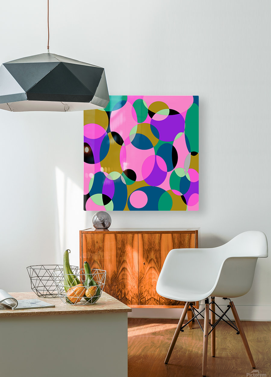 This is a beautiful design with great color, shape, line, texture, space and value.  (50)  HD Metal print with Floating Frame on Back