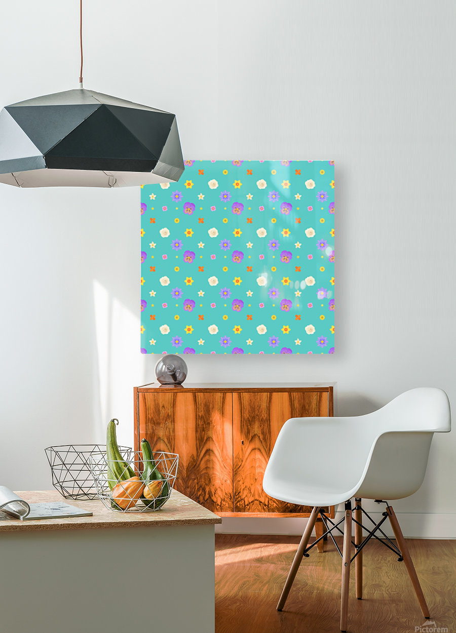 flowers, patterns, pattern, cute, nice, beautiful, bright, colorful, lovely, sexy, vibrant, summer, color, colors, hot, garden, pretty, attractive, amazing, petals, springtime, flora, n (3)  HD Metal print with Floating Frame on Back