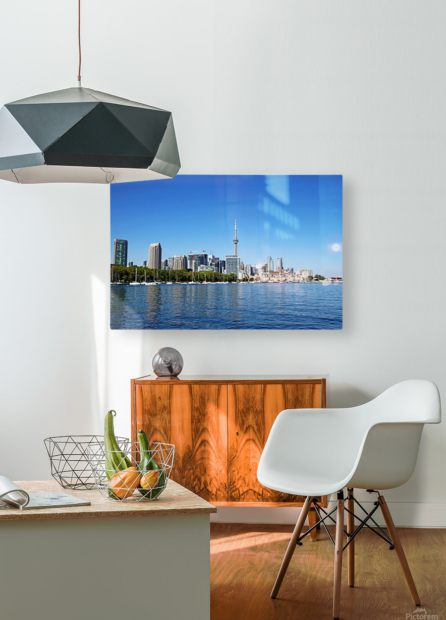 Toronto Harbourfront  HD Metal print with Floating Frame on Back