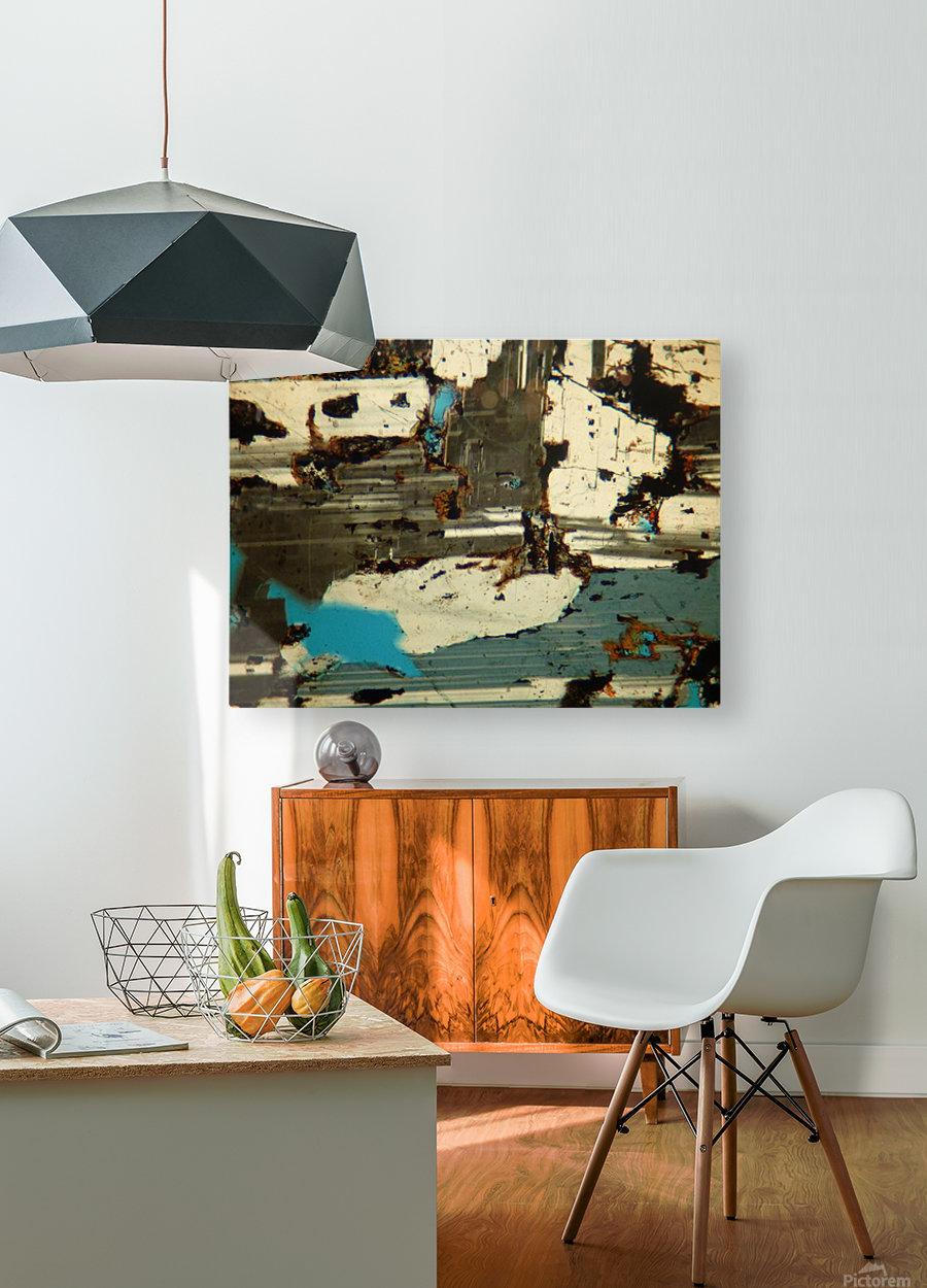 Agricultural Revolution  HD Metal print with Floating Frame on Back