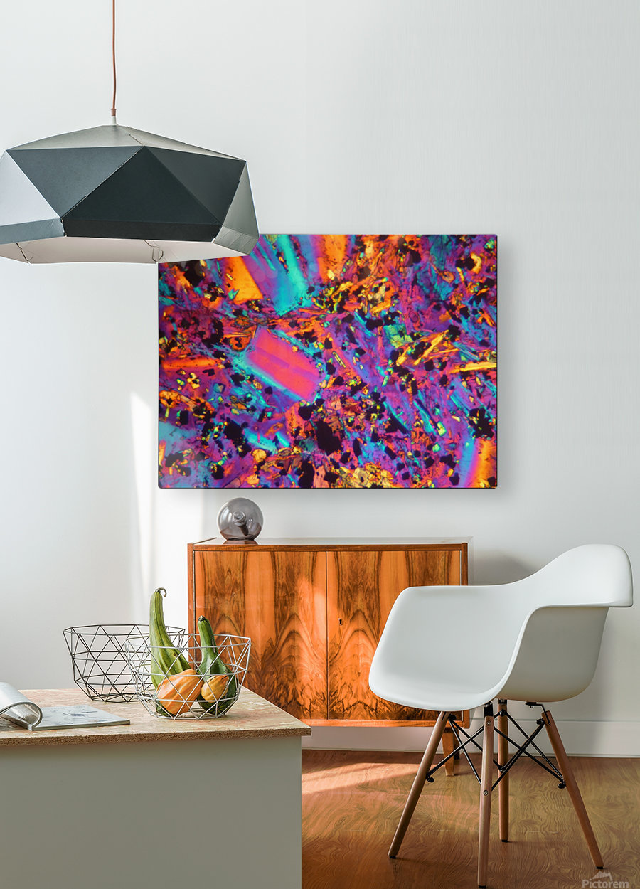 Dynamite  HD Metal print with Floating Frame on Back