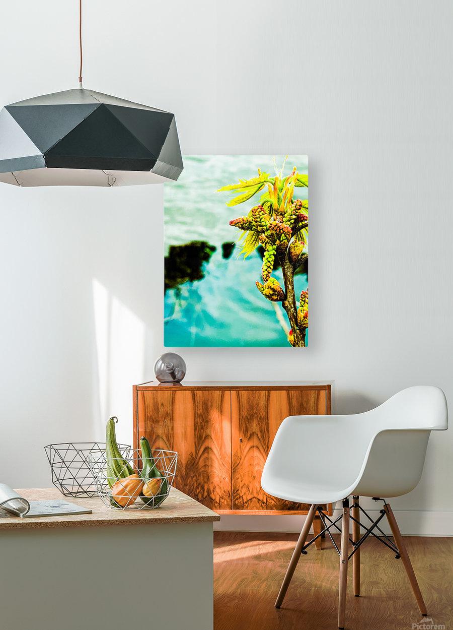 Floating  Impression métal HD avec cadre flottant sur le dos