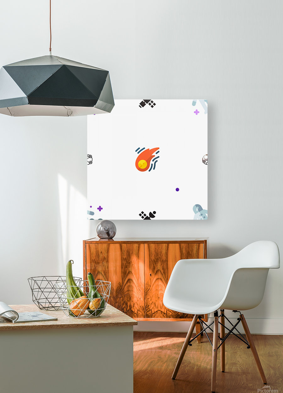 Space (18)  HD Metal print with Floating Frame on Back