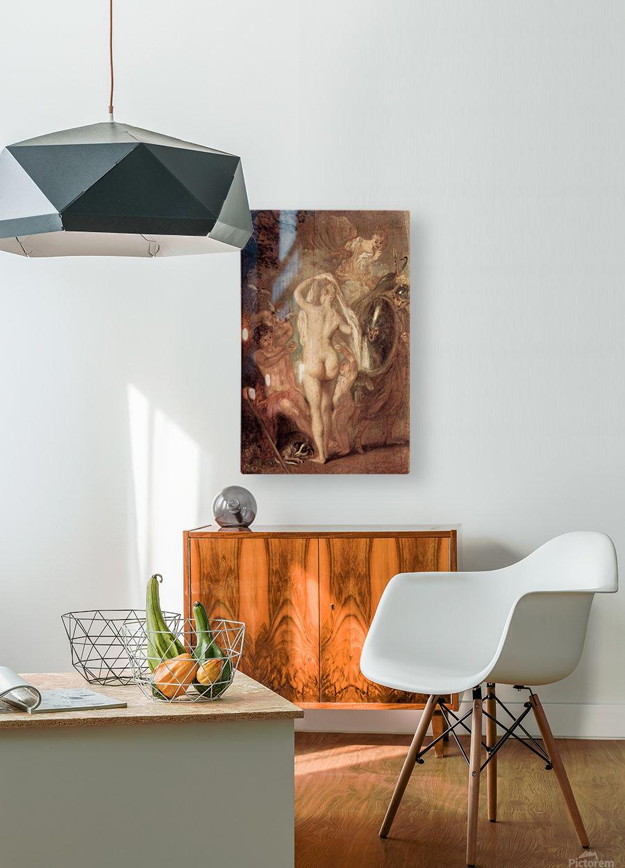 Le jugement de Paris  HD Metal print with Floating Frame on Back