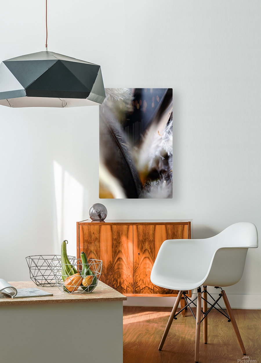 Abstract Macro Nature Photography 99  HD Metal print with Floating Frame on Back