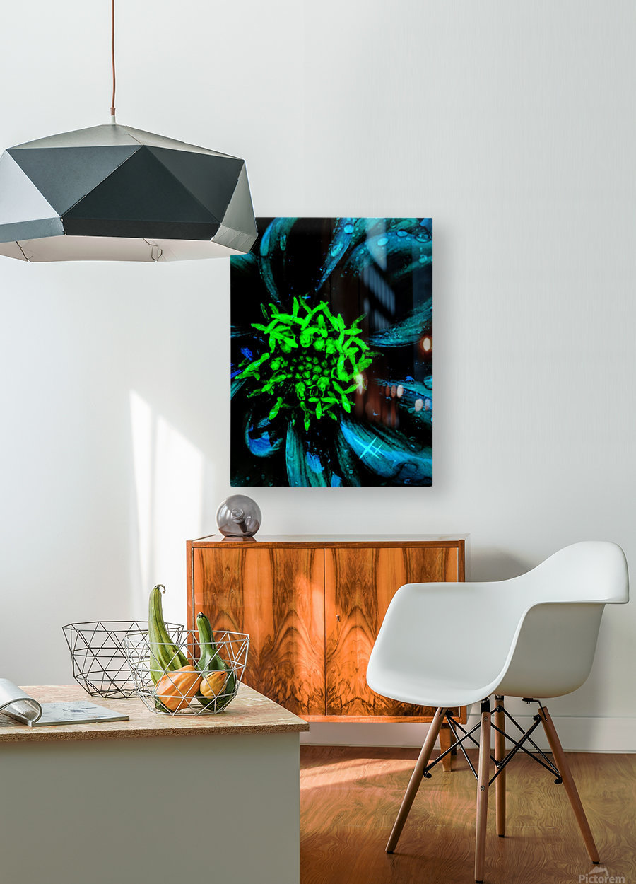Pedals of Nights  HD Metal print with Floating Frame on Back