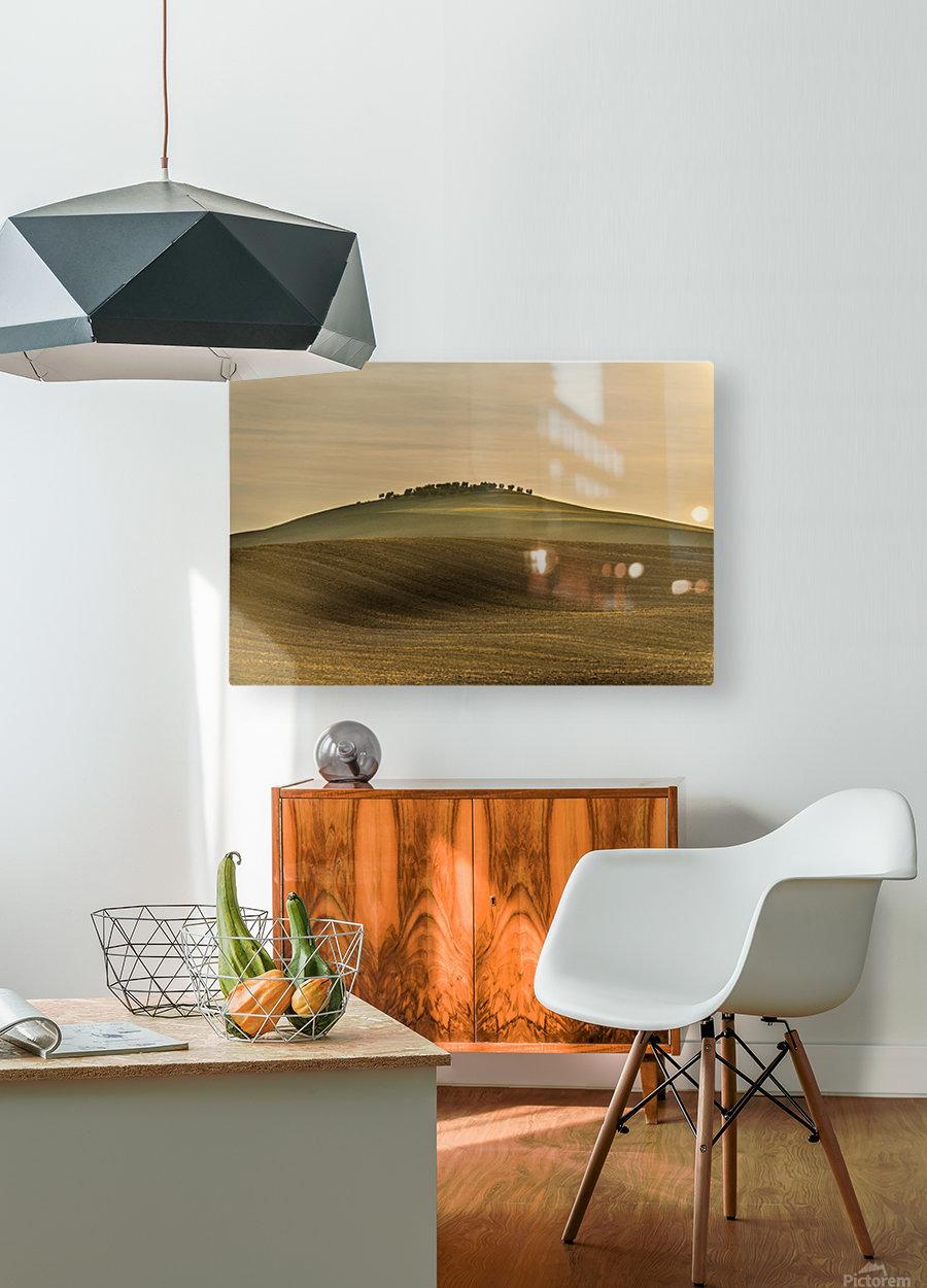 Toscane  HD Metal print with Floating Frame on Back