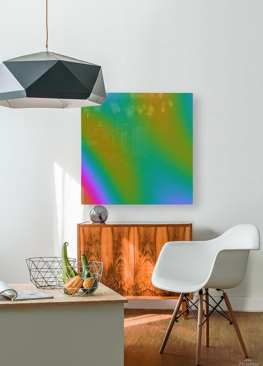 Cool Design (64)  HD Metal print with Floating Frame on Back