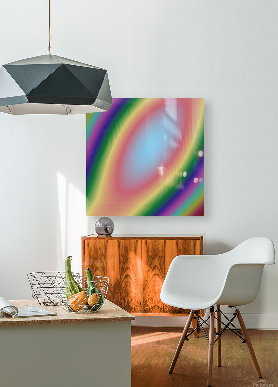 Cool Design (49)  HD Metal print with Floating Frame on Back
