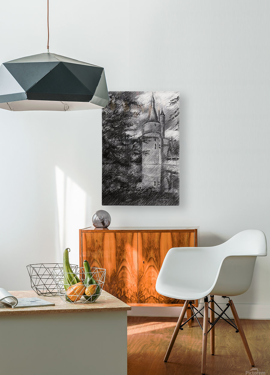 Wijk bij Duurstede – 13-05-19  HD Metal print with Floating Frame on Back