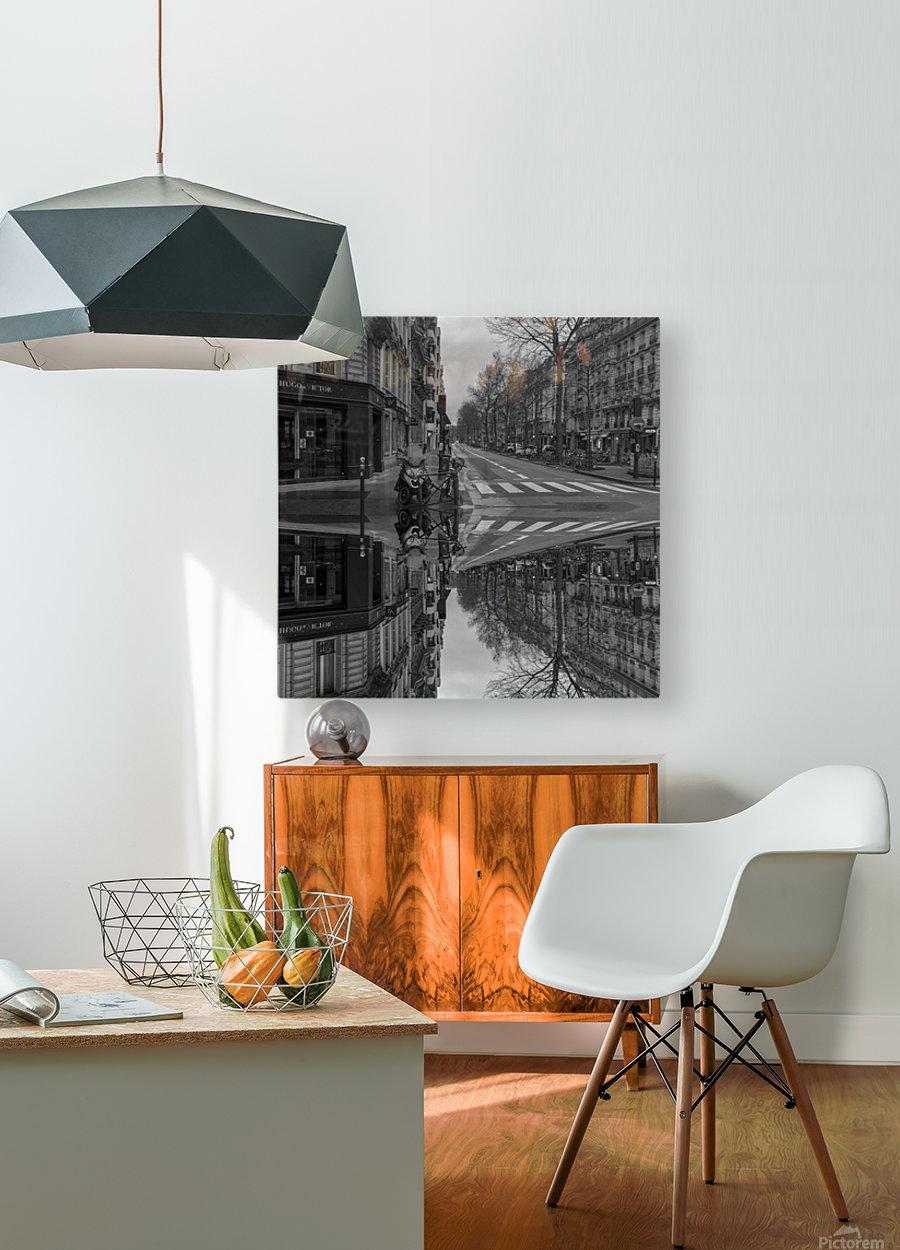 Paris - Street  2018  HD Metal print with Floating Frame on Back