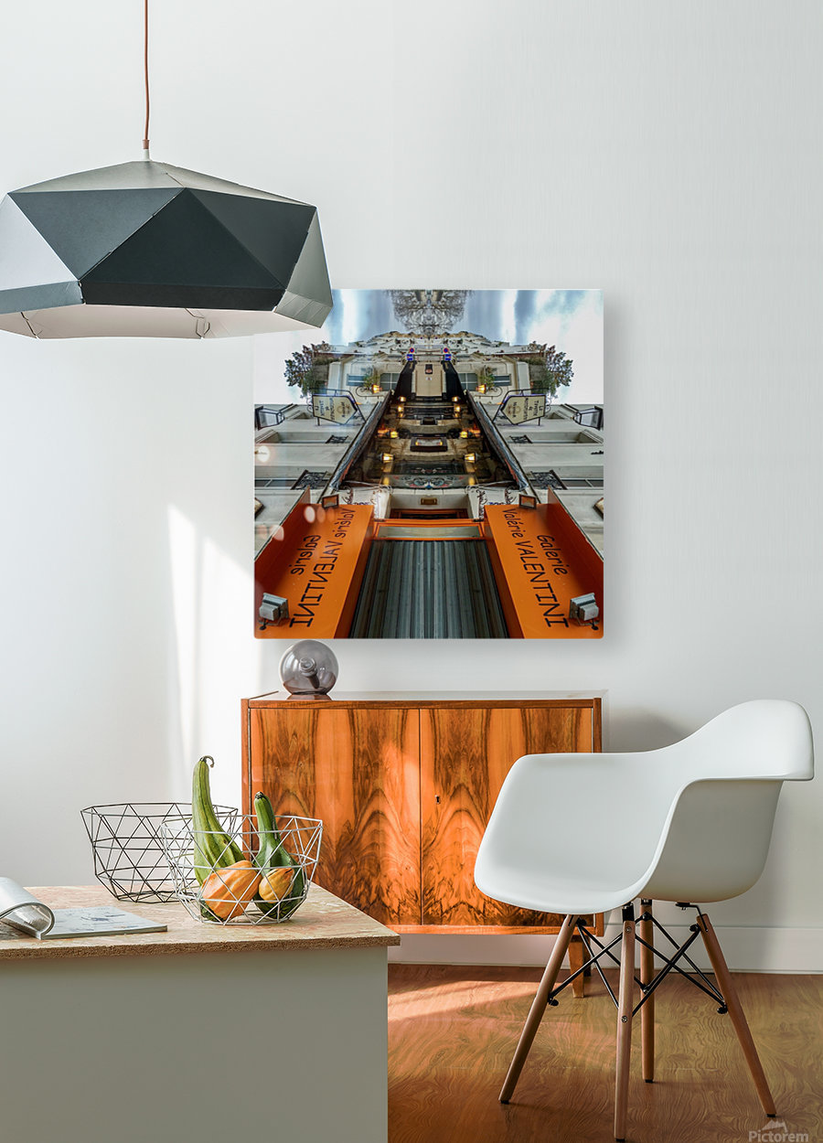 Paris - Rue Gabrielle  HD Metal print with Floating Frame on Back