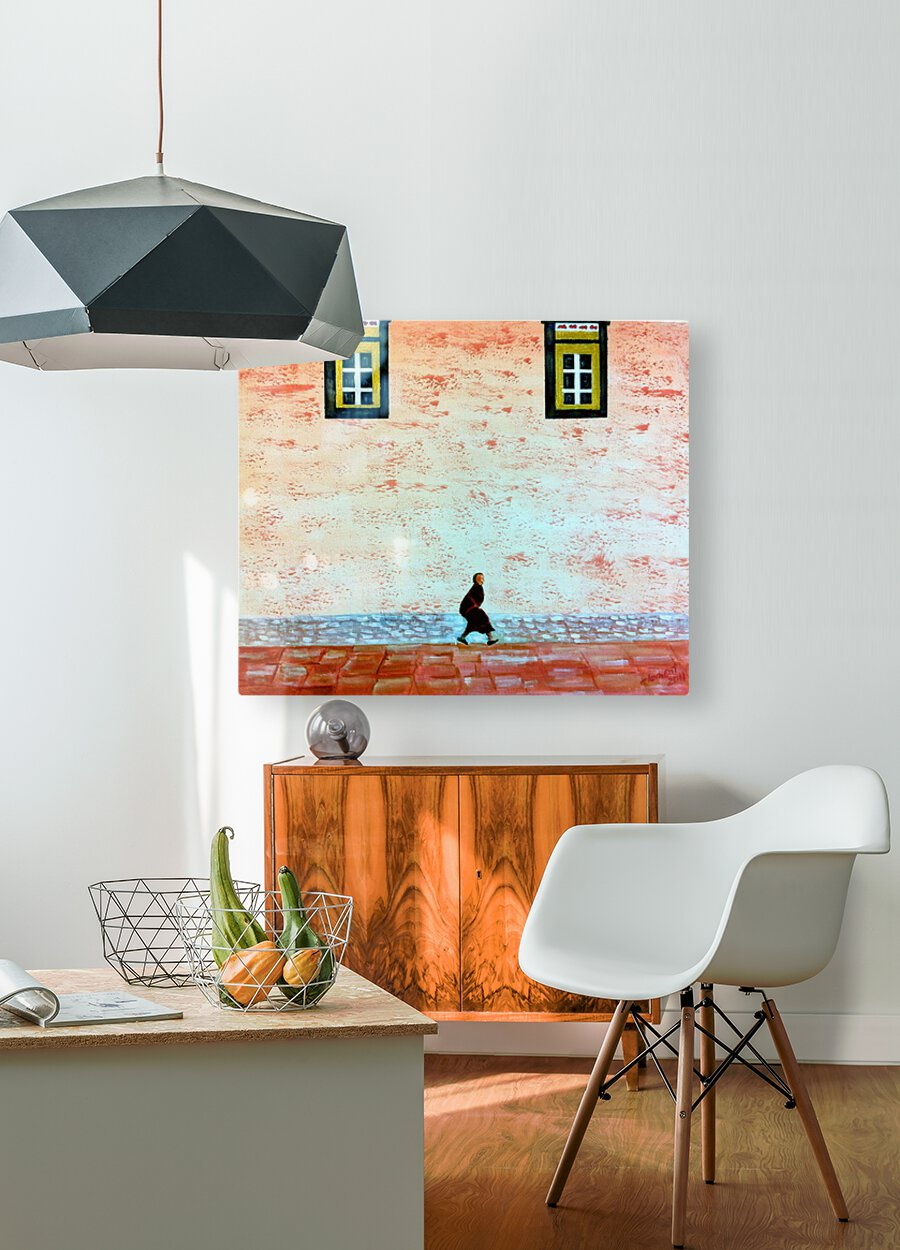 Animal  HD Metal print with Floating Frame on Back