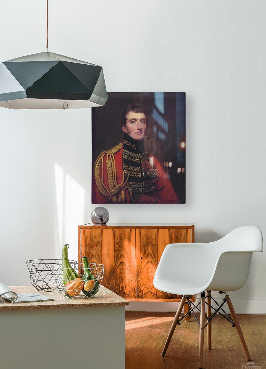 Lieutenant General William Stuart  HD Metal print with Floating Frame on Back