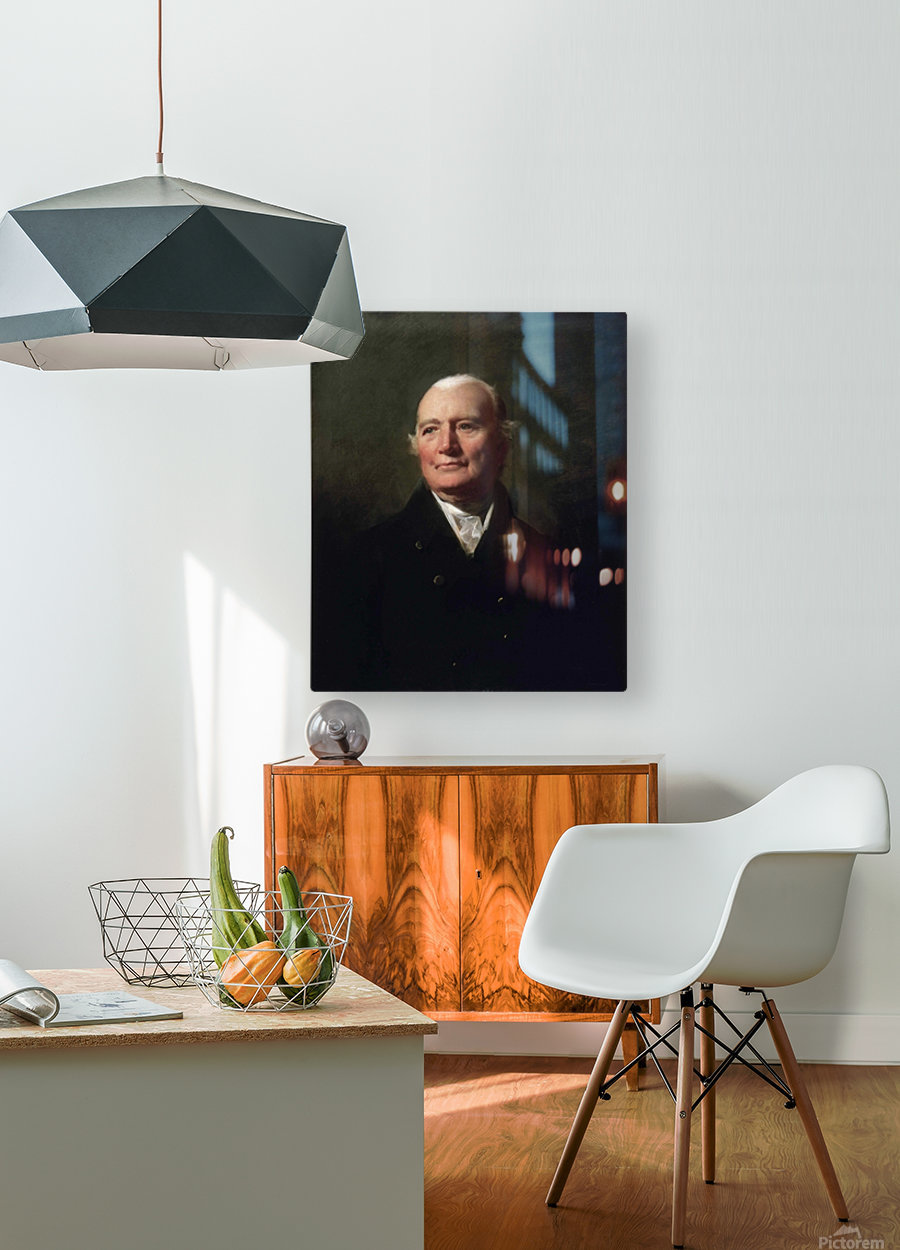 Alexander Shaw  HD Metal print with Floating Frame on Back
