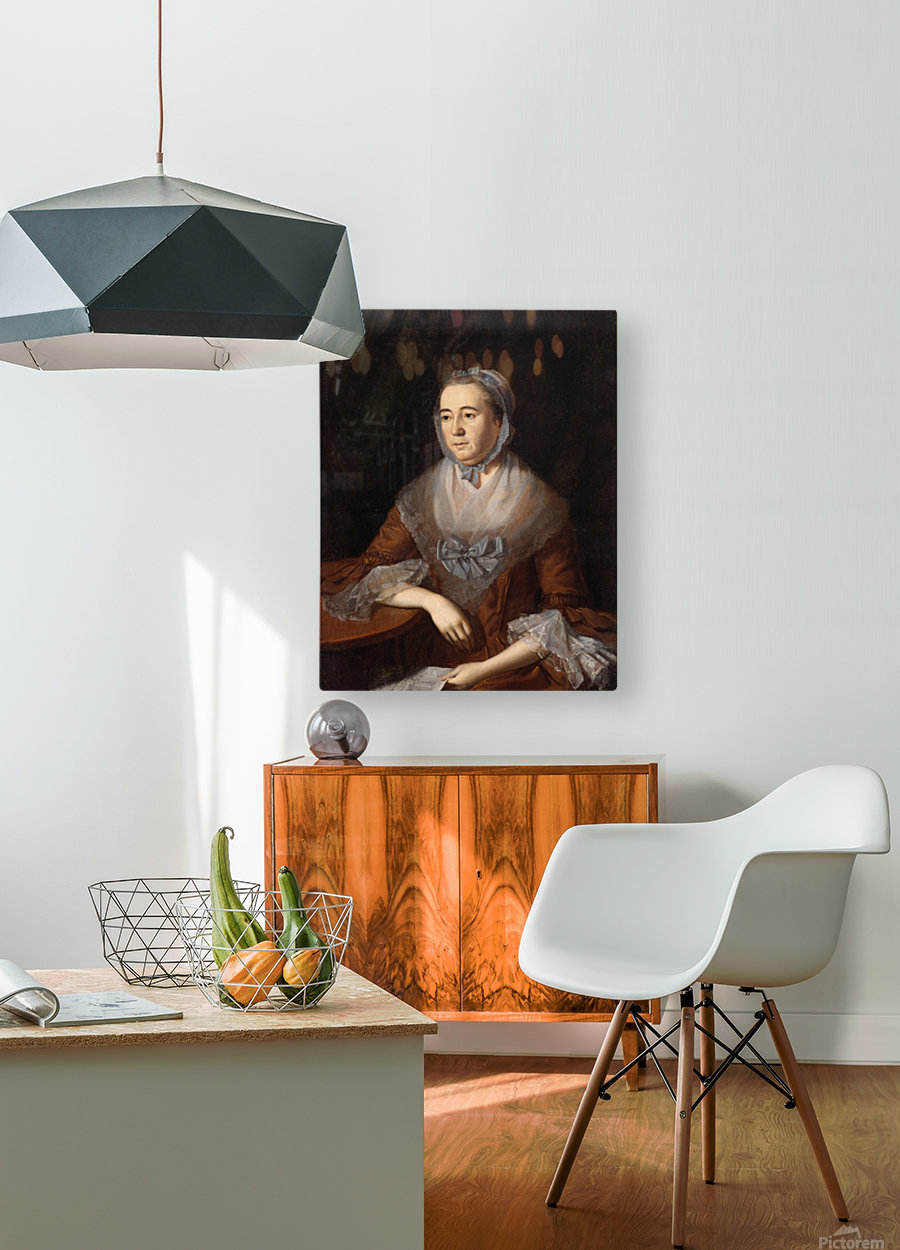 Anne Catherine  HD Metal print with Floating Frame on Back
